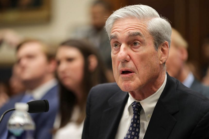 Former Special Counsel Robert Mueller testifies before the House Intelligence Committee.
