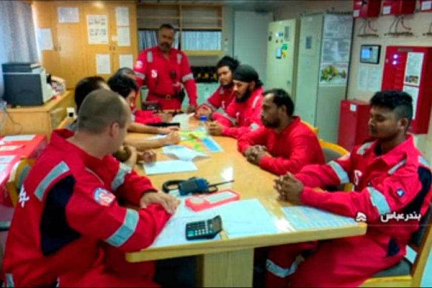 Apart from the 18 Indians aboard the Stena Impero, there are three Russians, a Latvian and a Filipino on the ship.