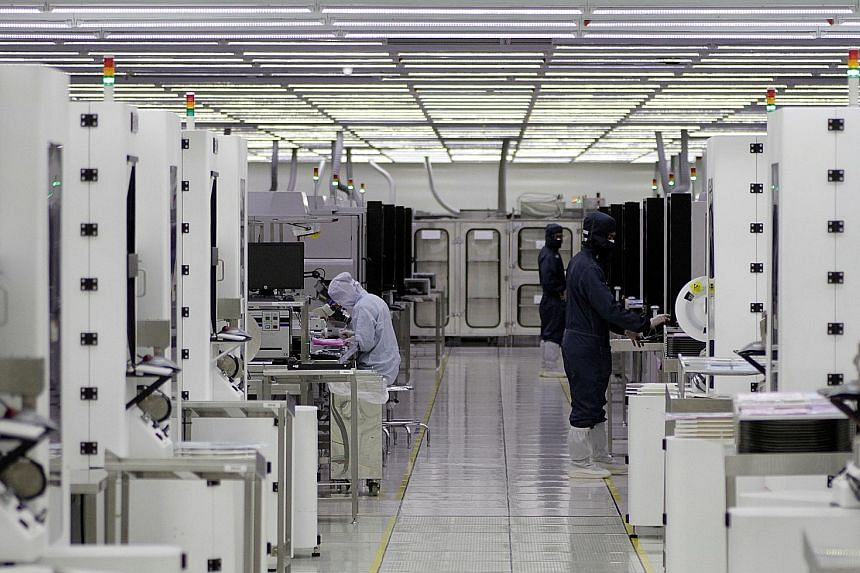 Uncertainty continues to weigh on the semiconductor sector, which made up nearly a third of manufacturing output last year.