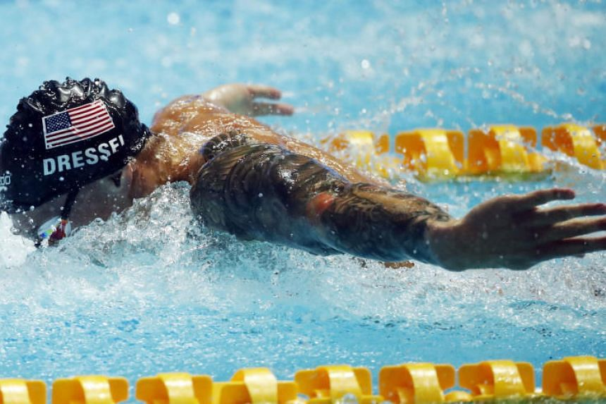 American Caeleb Dressel was 0.32 quicker than American legend Phelps went at the 2009 world championships in Rome.