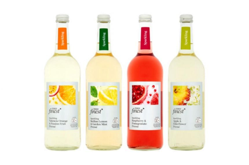 The products in question are 750ml bottles of Finest Sparkling Valencia Orange & Passion Fruit Presse, Finest Sicilian Lemon & Mint Presse, Finest Raspberry & Pomegranate Presse and Finest Apple & Elderflower Presse. These products were all produced