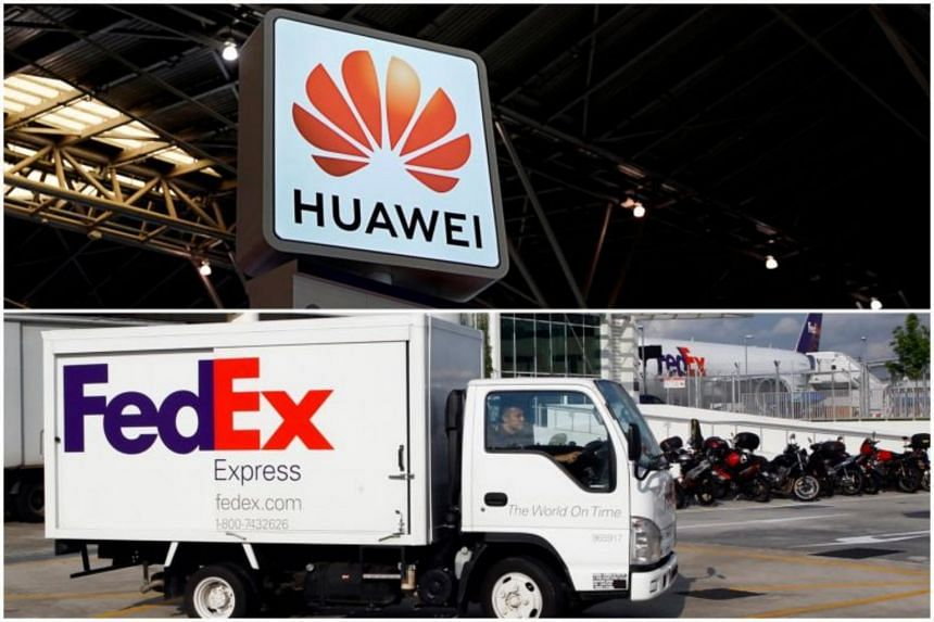 Huawei's ties with partners FedEx, Flex fray on U.S.-China tensions