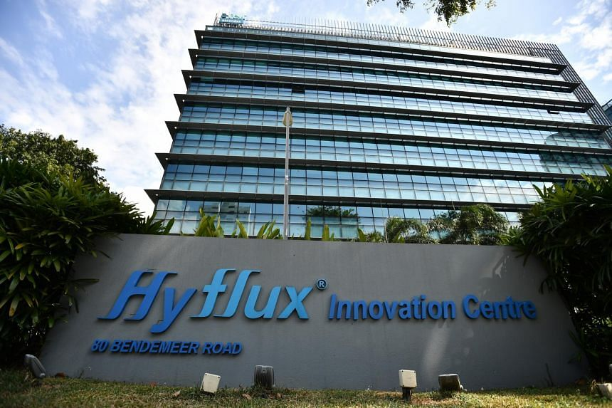 The Hyflux Innovation Centre in Bendemeer Road.