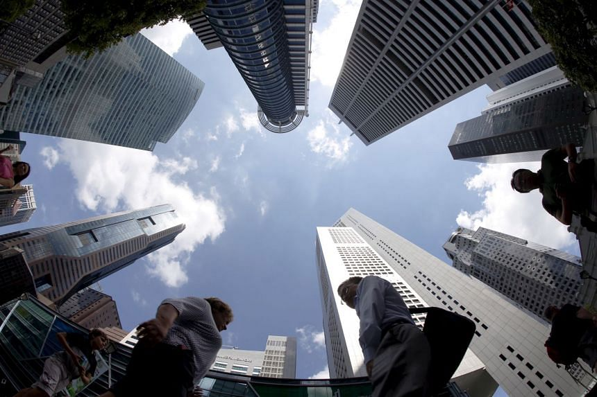 Singapore's central business district.
