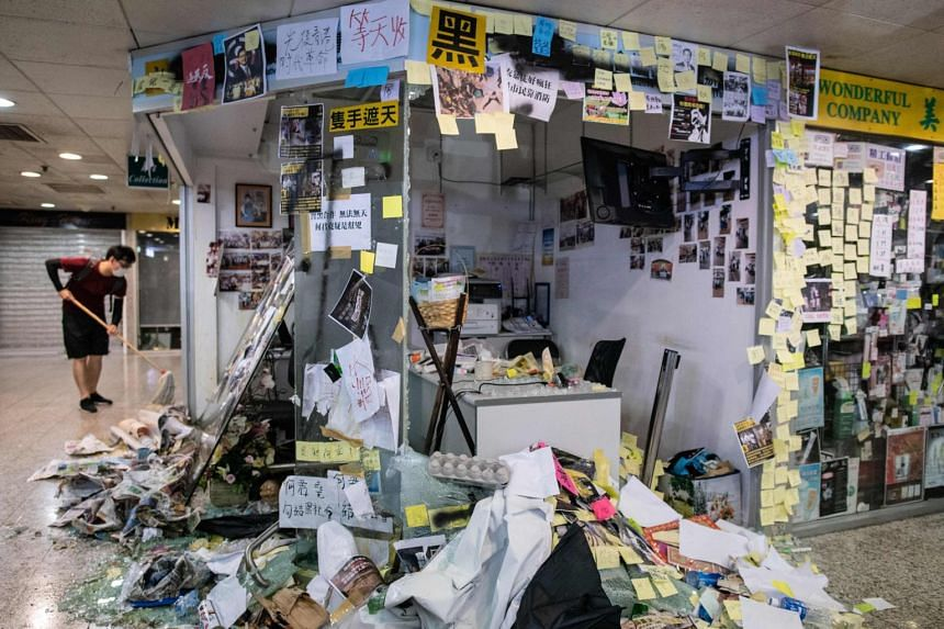 Hong Kong has been plunged into its worst crisis in recent history after millions of demonstrators took to the streets - and sporadic violent confrontations erupted between police and pockets of hardcore protesters.