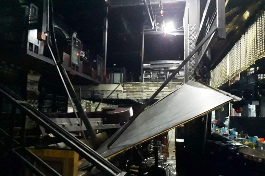 Two South Koreans dead, several aquatic athletes hurt in nightclub collapse