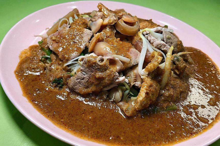 Satay bee hoon