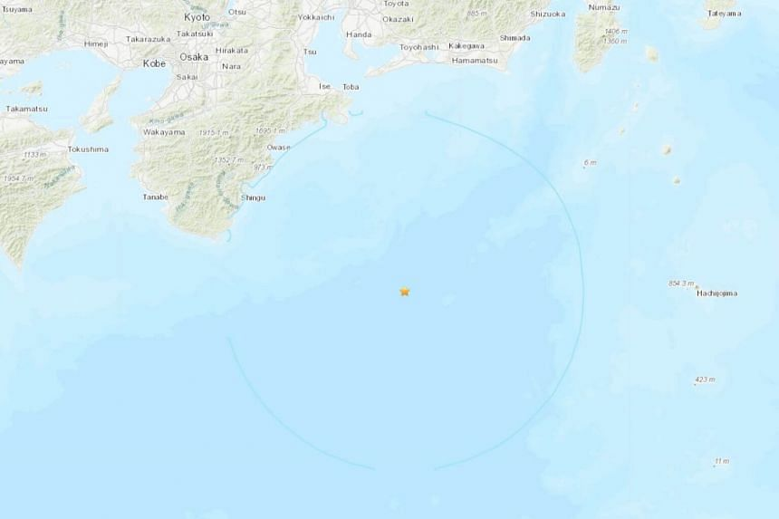 The estimated population of the area where the earthquake was felt is 30 million inhabitants, with no immediate reports of damage or injuries.