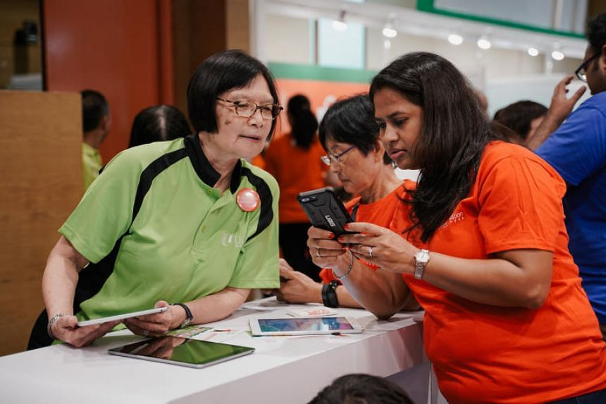 Individuals can sign up at Volunteer.SG to volunteer as Smart Nation Ambassadors at Smart Nation roadshows and events.
