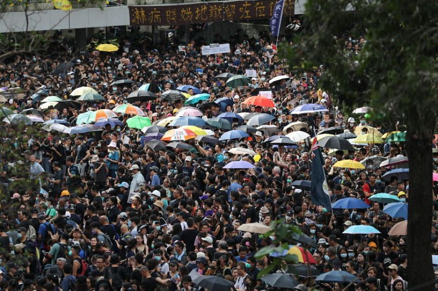 The Hong Kong protests, which have surged again in recent days, were initially against an extradition Bill that would allow people to be sent to mainland China, but have since broadened into calls for wider democratic reforms.
