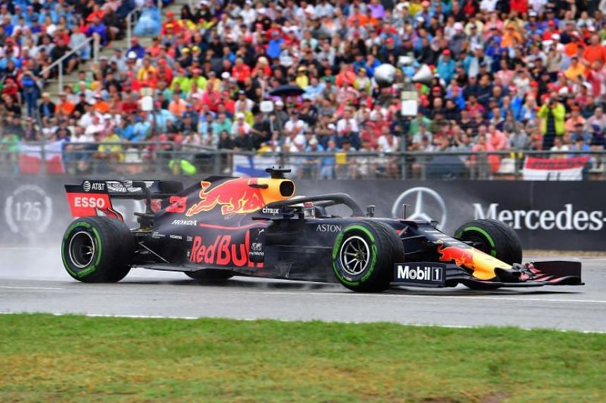 Red Bull's Max Verstappen during the Formula One German Grand Prix on July 28, 2019.