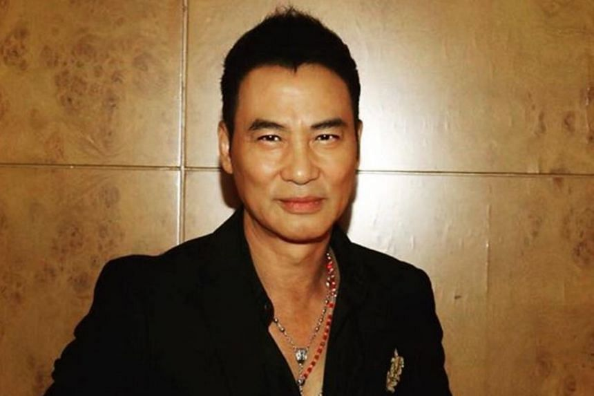 Simon Yam said he did not lose his calm during the surprise attack.