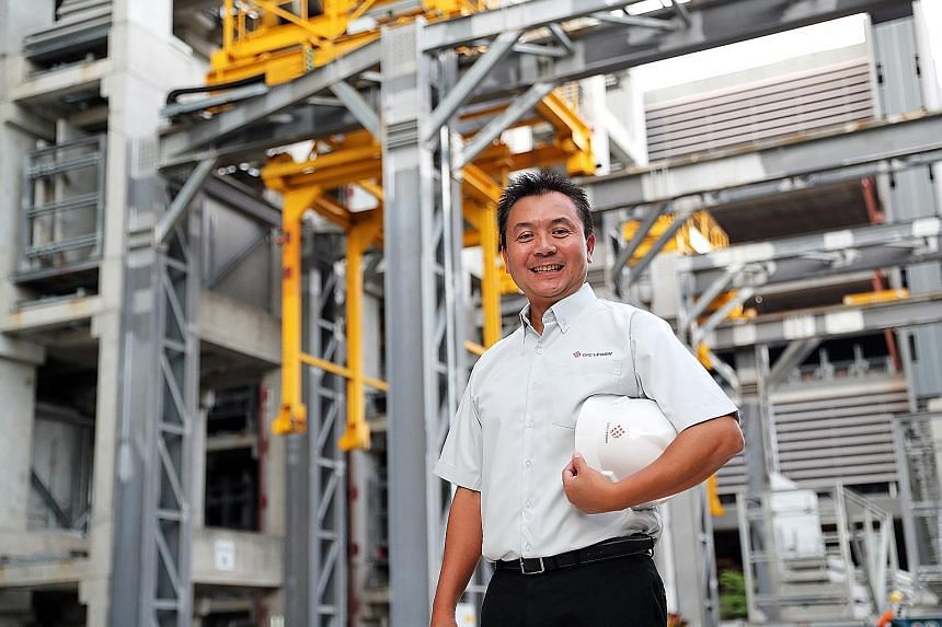 """Mr Bob Chan, chief executive of Greyform, which specialises in offering precast and prefabricated solutions to the construction industry, says the sector must work on attracting young local talent and adopting new technology because """"we cannot rely o"""