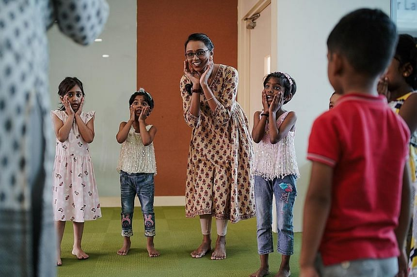 Sinda aims to get more households to speak Tamil. The Indian community self-help group says that 40 per cent of the 250 children who enrolled in its 20-week Tamil enrichment course do not have any exposure to the language at home. It wants to do a st