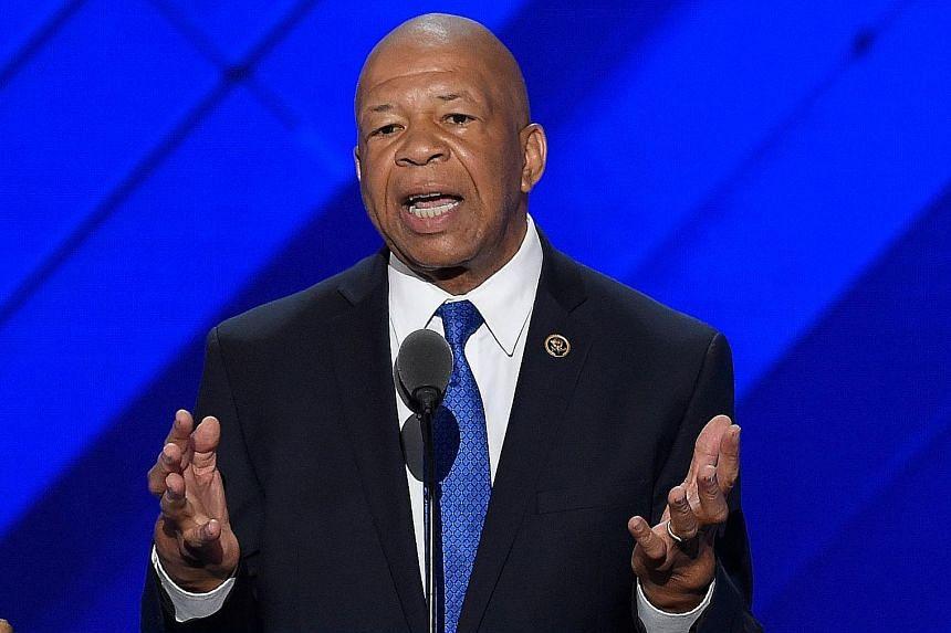 DEMOCRATIC REPRESENTATIVE ELIJAH CUMMINGS, whose district covers much of Baltimore.