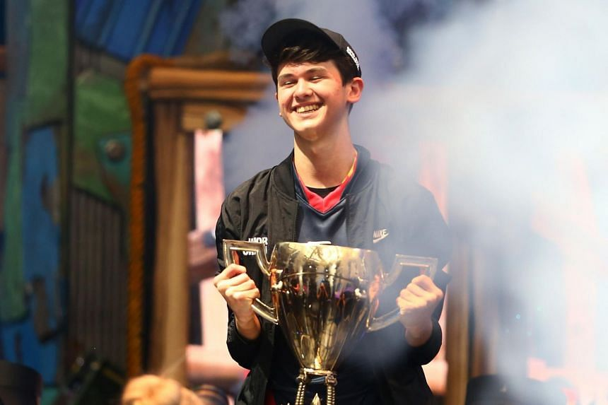 Playing under the name Bugha, American teenager Kyle Giersdorf won the solo finals portion of the Fortnite World Cup by scoring 59 points, 26 more than his nearest competitor.