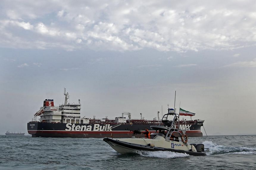 Tensions have spiked between Iran and Britain since after Iranian commandos seized a British-flagged tanker earlier this month.