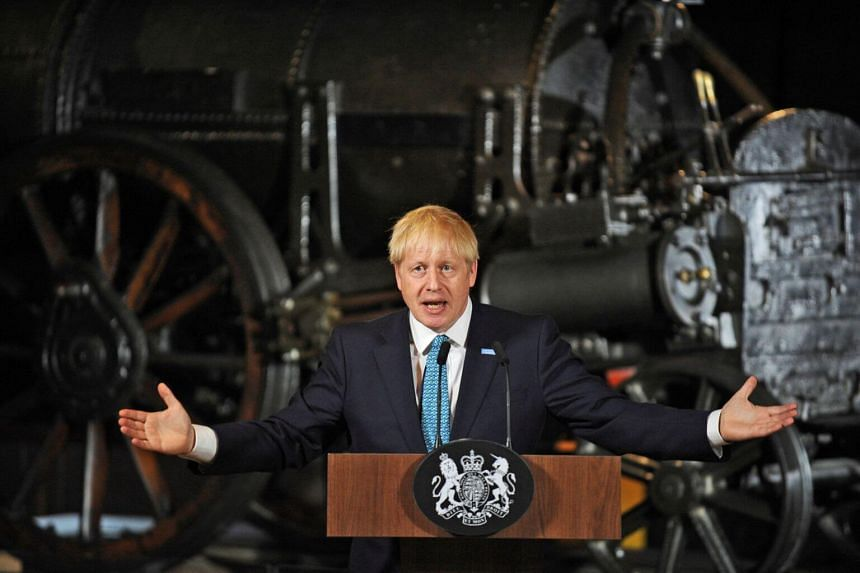 Boris Johnson greeted with loud boos and a frosty handshake in Scotland