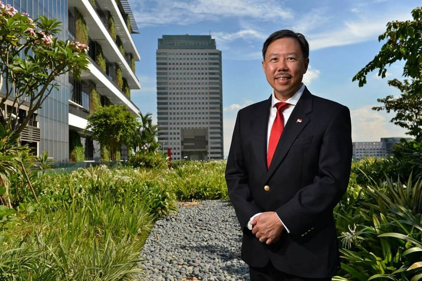 Chief executive officer of the Building and Construction Authority Hugh Lim pointed to the importance of environmentally friendly buildings in an age when climate change is a serious threat.