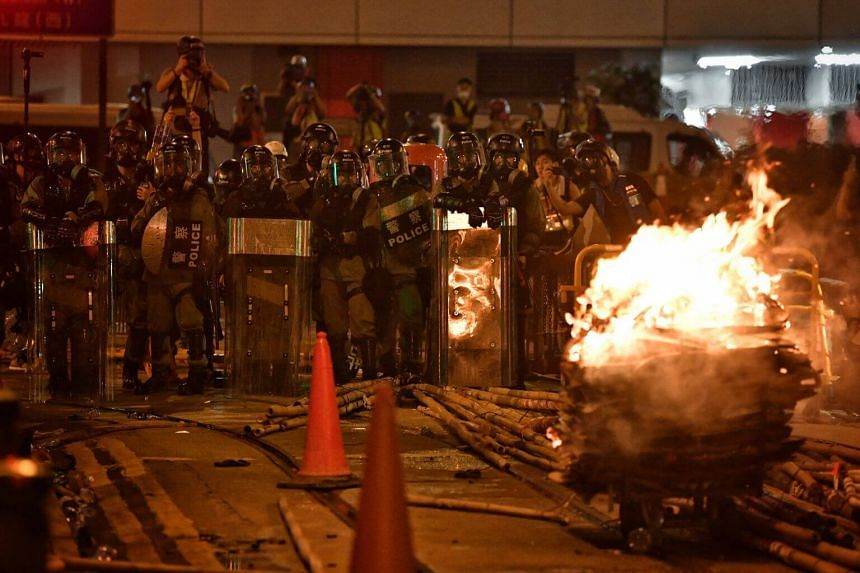 The move comes after another weekend of fierce clashes between protesters and police, who again fired rubber bullets and tear gas as the demonstrations grow increasingly violent.