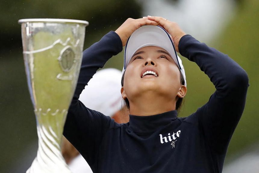 South Korean Ko seized control with a 15-foot birdie at the penultimate hole, and parred the last for a four-under-par 67 at the Evian Resort in Evian-les-Bains.
