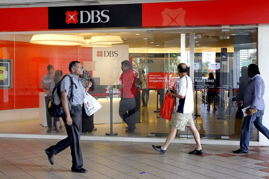 DBS, the first Singapore bank to kick off the sector's results, maintained its mid-single-digit per cent loan growth forecast for the full year.