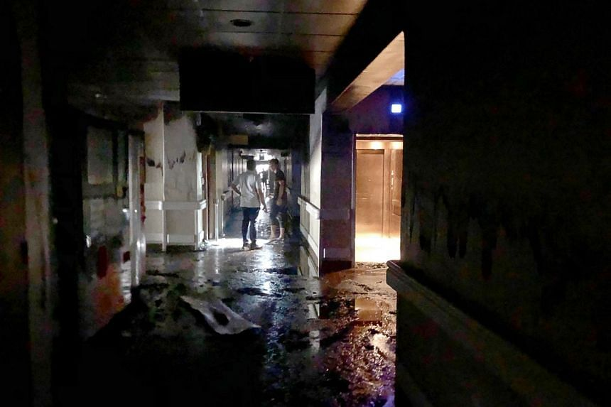 """SCDF said a preliminary investigation indicated that """"while the cause of the fire is of electrical origin, it is not due to personal mobility devices or power-assisted bicycles""""."""