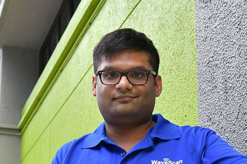Dr Kush Agarwal and his team have invented a handheld device that uses electromagnetic waves to check a building's facade for defects, which helps to save time and money.