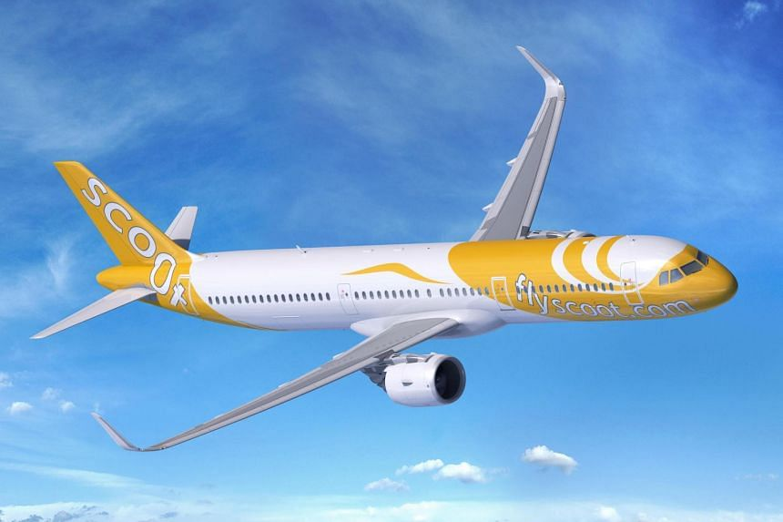 The new planes will also help the airline add capacity at busy airports where landing slots are limited, said Scoot chief executive Lee Lik Hsin.
