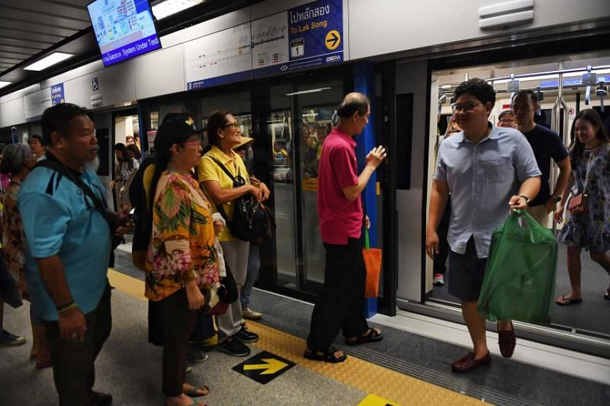 After opening fully next year, the Bangkok MRT Blue Line will finally run in a loop, thus helping alleviate the severe traffic congestion in Bangkok.