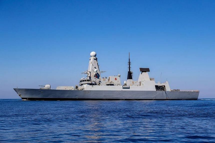 The UK has deployed the HMS Duncan, one of its Type 45 destroyers, to shepherd British-flagged ships through the Strait of Hormuz.