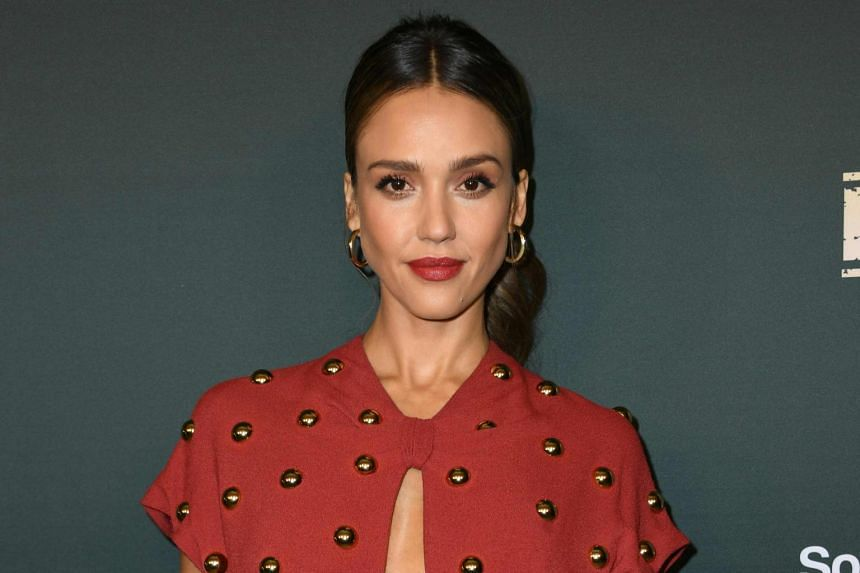 Actress Jessica Alba, who has more than nine million Twitter followers, reportedly slept through the entire hacking episode.