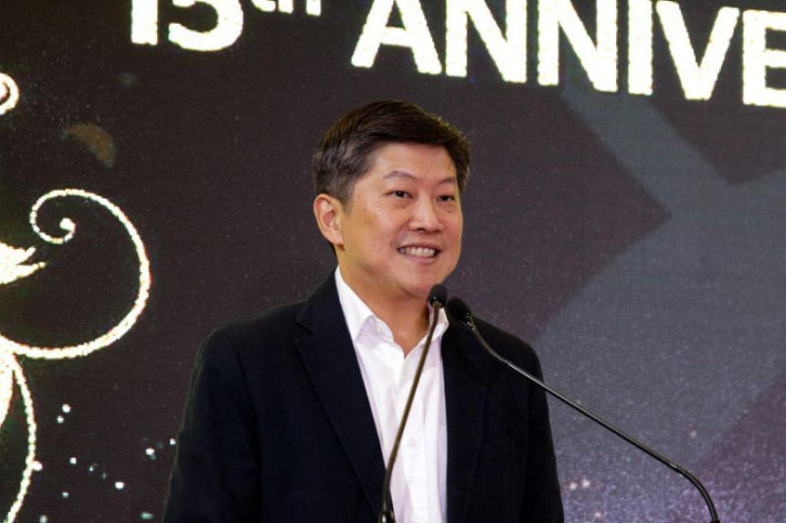 NTUC secretary-general Ng Chee Meng at the NTUC LearningHub's 15th anniversary appreciation lunch on July 29, 2019.