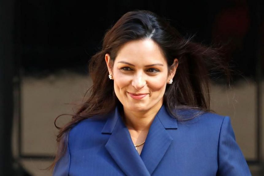 """British interior minister Priti Patel (above), appointed last week by British Prime Minister Boris Johnson, hosted the ministerial meeting to focus on emerging threats and how to deal with the """"opportunities and risks"""" posed by new technologies."""