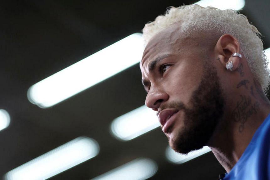 Neymar would like to return to the Camp Nou.