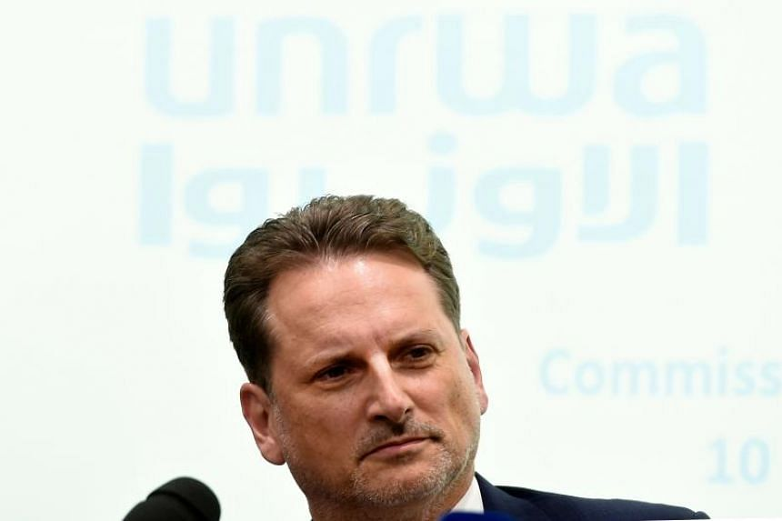 """The report describes """"credible and corroborated"""" allegations of serious ethical abuses, including involving UNRWA's top official, Commissioner-General Pierre Krahenbuhl."""