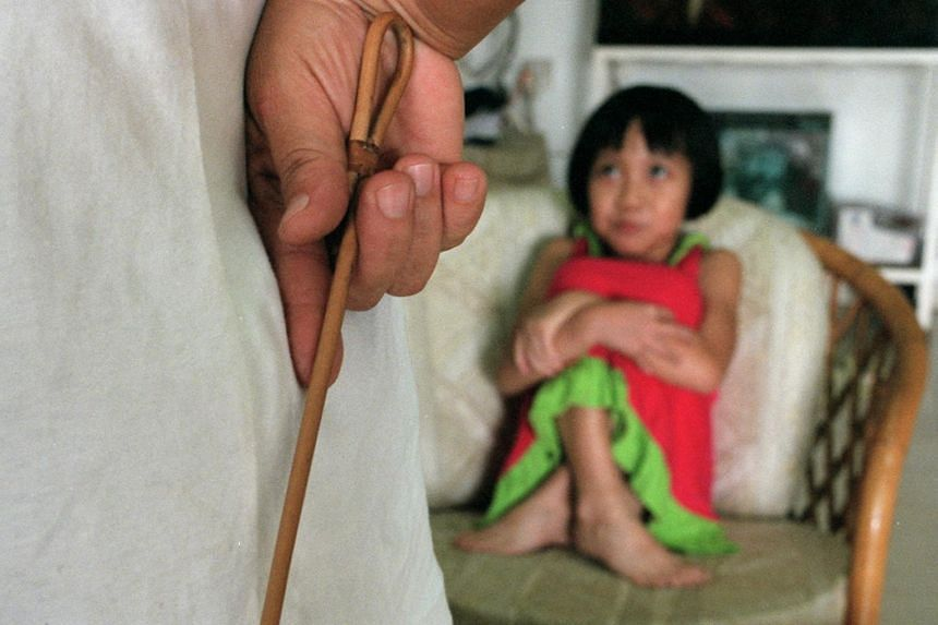 The survey by international research agency YouGov found that nearly 80 per cent of parents in Singapore had carried out corporal punishment at home, which was defined in the questionnaire as any form of physical punishment such as palm-smacking or c