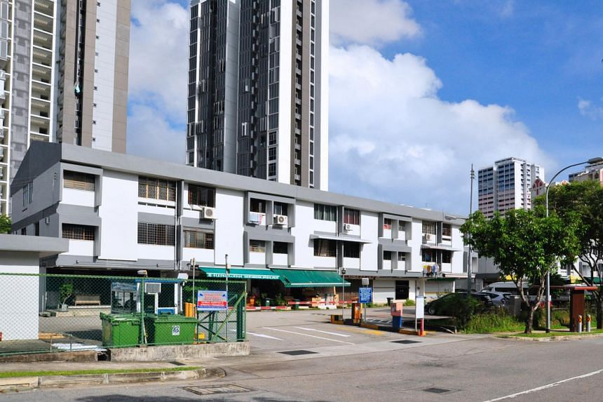 The property comprises 24 apartments and 12 shops spread over two three-storey blocks, with a 99-year leasehold tenure that started from Jan 1, 1969.