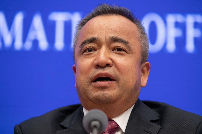 Mr Alken Tuniaz, vice-chairman of the government of the region of Xinjiang, said 90 per cent of people held in what the government calls vocational training centres had been returned to society.