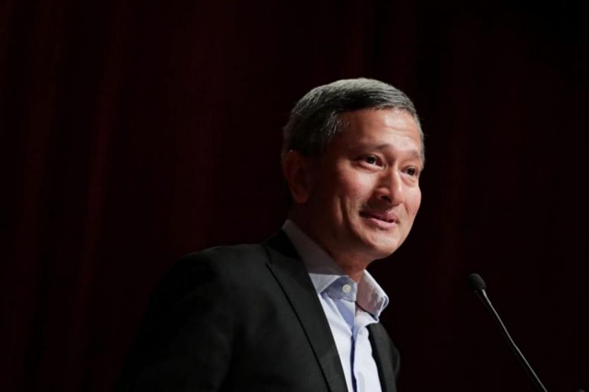 Foreign Minister Vivian Balakrishnan will be accompanied by officials from his ministry.