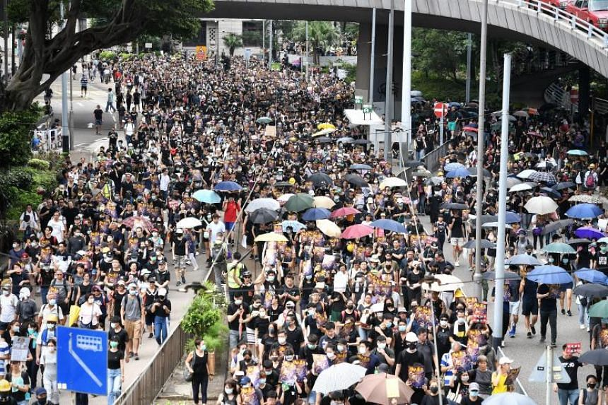 Hong Kong has been plagued with protests for two months, many of which ended in clashes between the police and protesters.