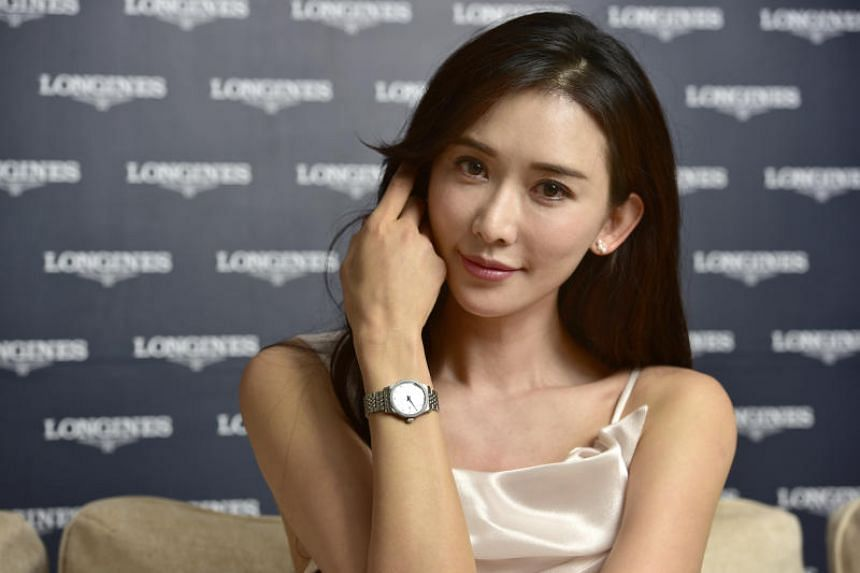 The Taiwan model-actress told media that she is adjusting well to the demands of her new life.