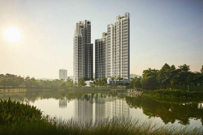 Located in the Desa ParkCity township, the twin-tower residential development overlooks a scenic lake and is close to dining and retail outlets as well as international schools.