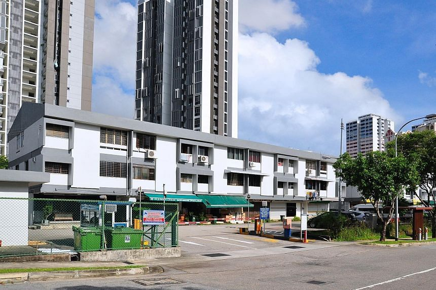 The property near Bukit Panjang comprises 24 apartments and 12 shops in two three-storey blocks, with a 99-year leasehold tenure that started on Jan 1, 1969. It is near Phoenix LRT station and an eight-minute walk from Bukit Panjang MRT station and b