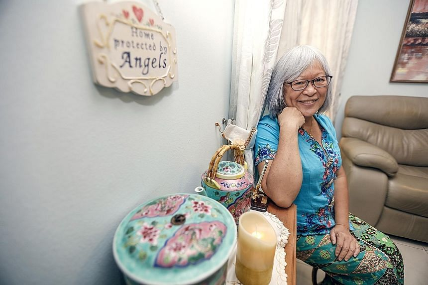 In the early 1980s, Ms Josephine Chia moved to Britain to pursue a master's in creative writing. She returned to live in Singapore in 2012, and, over the years, has written several books. In 2014, her book, Kampong Spirit Gotong Royong: Life In Poton