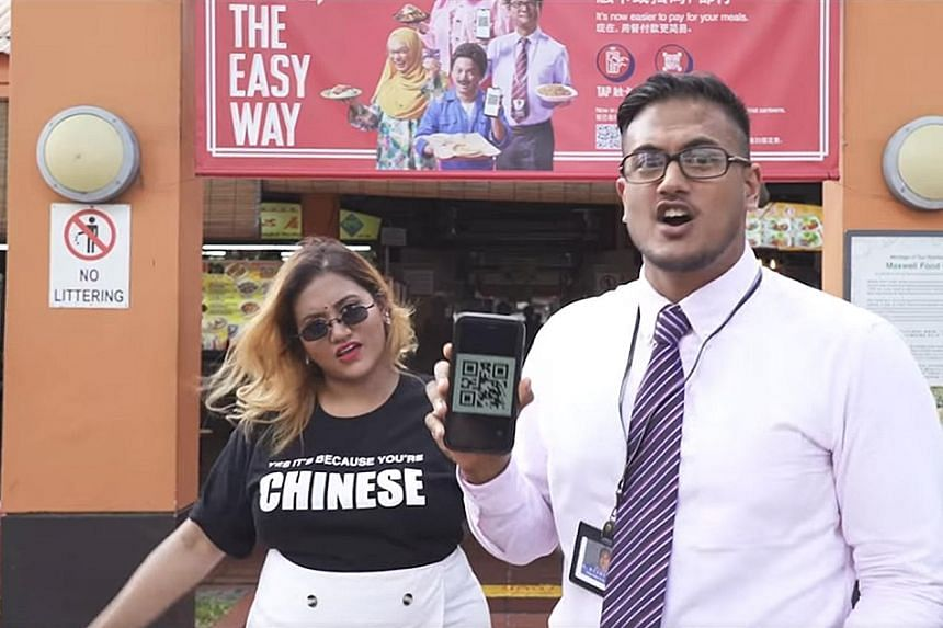 YouTuber Preeti Nair and her brother, rapper Subhas Nair, were on an online rap video that was a response to a recent ad by e-payments website epaysg.com featuring Mediacorp actor and DJ Dennis Chew. PHOTO: PREETIPLS/FACEBOOK
