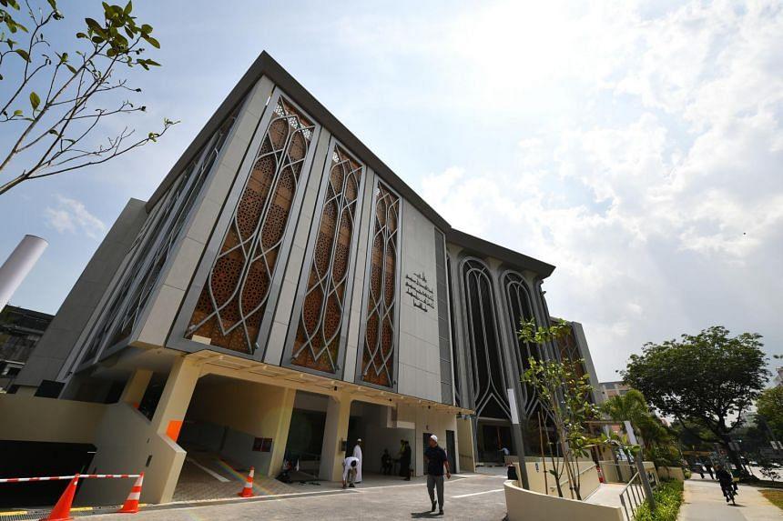 Masjid Darul Ghufran in Tampines.