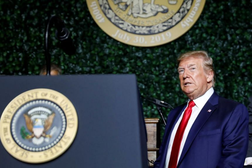 """US President Donald Trump's remarks about Baltimore  came hours after he lashed out once again at House Oversight and Reform Committee Chairman Elijah Cummings and the """"corrupt"""" city he represents."""