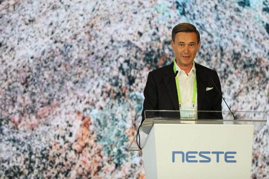President and chief executive Peter Vanacker said Neste chose Singapore because of its high technological capabilities, infrastructure and good logistics systems.
