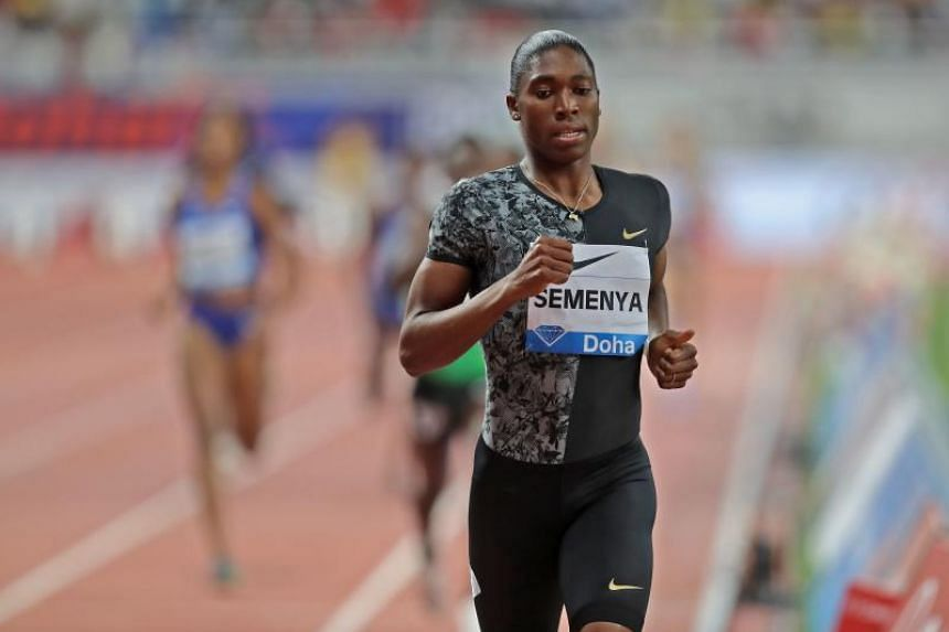 Semenya is classified as a woman, was raised as a woman and races as a woman.